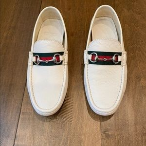 Deals for Mens White Gucci Loafers